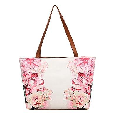 50771afd90 Sale Clearance Women Handbag Halijack Ladies Fashion Vintage Floral Zipper  Soft Shoulder Bag Tote Purse Bag