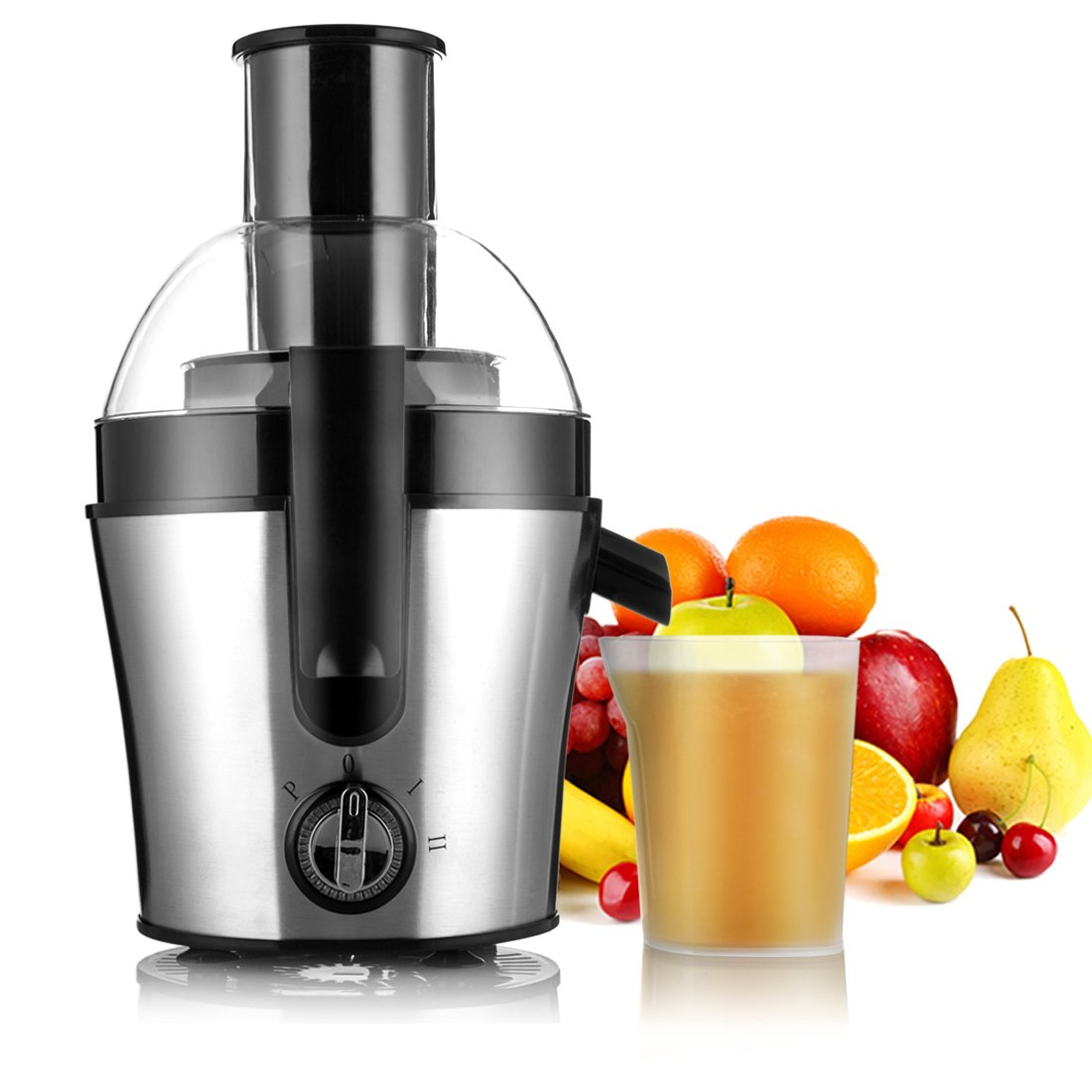 Juice Extractor, Professional Electric Centrifugal Juice Maker