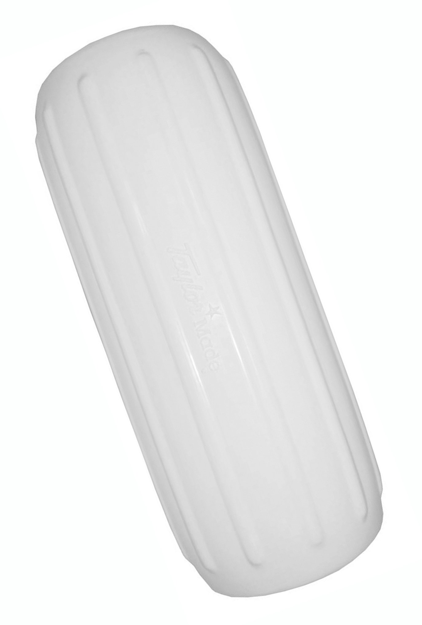 Taylor Made Products 1034 Big B Inflatable Vinyl Boat Fender with Center Rope Tube 12 inch x 34 inch, White by TAYLOR MADE PRODUCTS