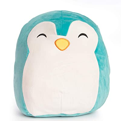 """Squishmallow 12"""" Plush Soft Animal Pillow Toy (Tanner The Teal Penguin): Toys & Games"""