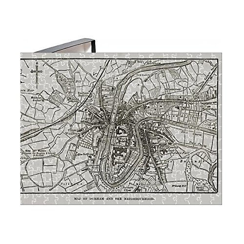 Media Storehouse 252 Piece Puzzle of Map of The City of Durham, England Victorian Engraving, 1840 ()