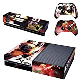 Action Adventure and Horror Games World Design Skin Stickers For Microsoft Xbox ONE Console + Controllers and Kinect (Resident Evil Umbrella Corporation Logo)