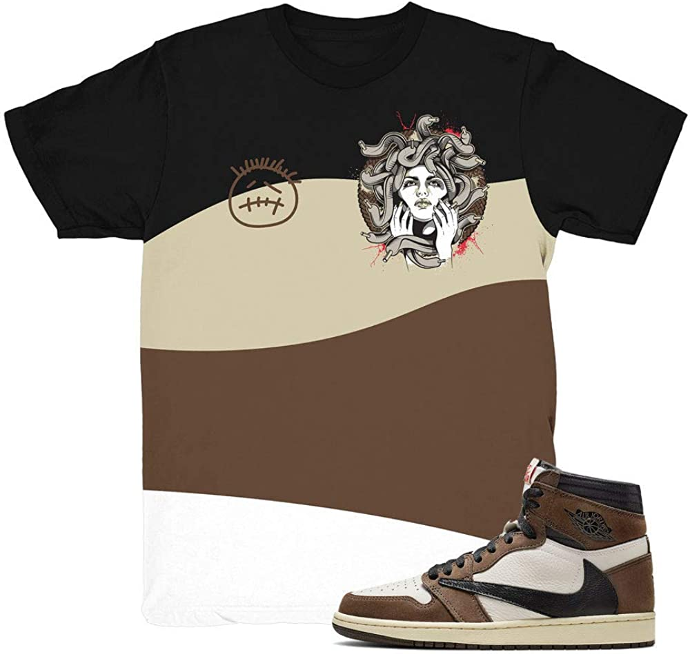 Jordan Retro 1 Travis Scott Shirt at
