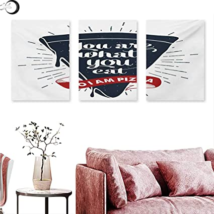 Amazon com: Mannwarehouse Funny Words Canvas Wall Art Grunge