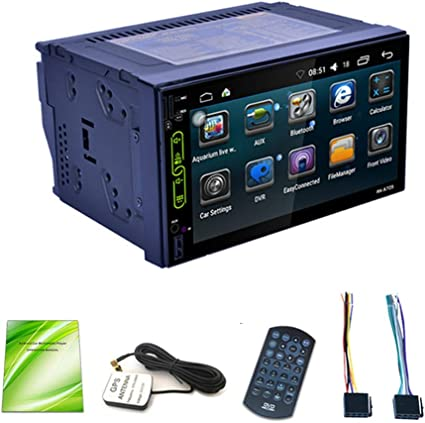 Coche radio coche MP5 Player 2 Din GPS Navigation Wifi Android 6,0 ...