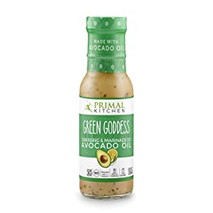 Primal Kitchen - Avocado Oil-Based Dressing and Marinade, Green Goddess, 8 Fl Oz (Pack of 1), Whole30 and Paleo Approved
