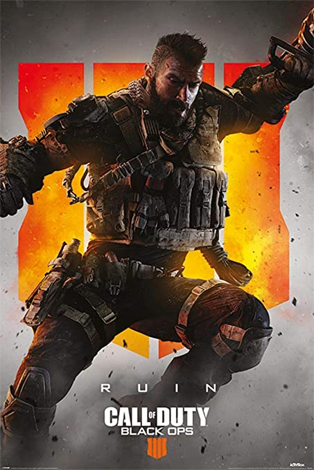 Póster Ruin Call Of Duty Black Ops 4 Amazones Hogar