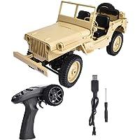 Zouminy RC Off-Road 4WD camión Militar 1/10 Control