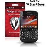 MediaDevil BlackBerry Bold 9900 / 9930 Protection Écran : Transparent Clair (Invisible) - (2 x Protèges-Écran) Magicscreen