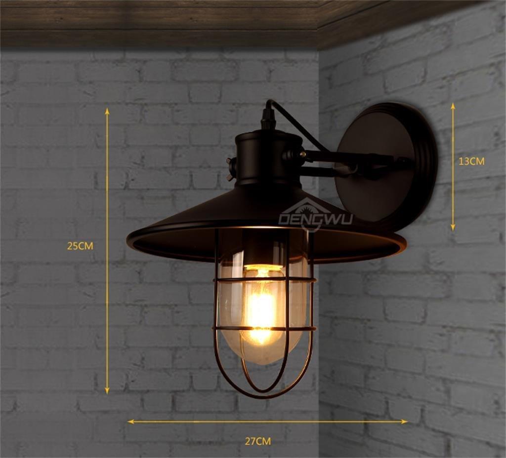 di moda MTX MTX MTX Ltd Lampada da Parete Industriale da Comodino con Lampada da Parete Americana  vendita all'ingrosso