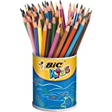 Bic Evolution 841229-ASS Pot 60 crayons évolution Couleurs Assorties