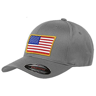 21066ab1f312d Flexfit American Flag Hat