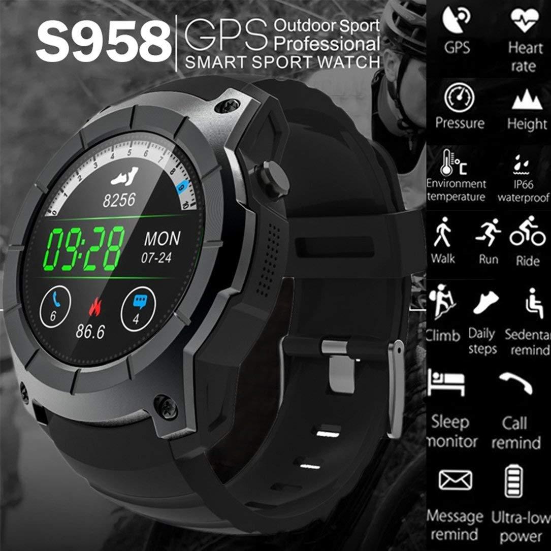 S958 - Podómetro Deportivo Bluetooth Smartwatch GPS MTK2503 ...