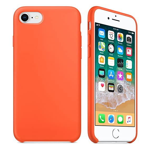 apple iphone 8 case orange