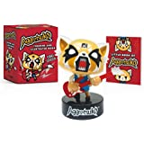 Aggretsuko Figurine and Illustrated Book: With Sound!
