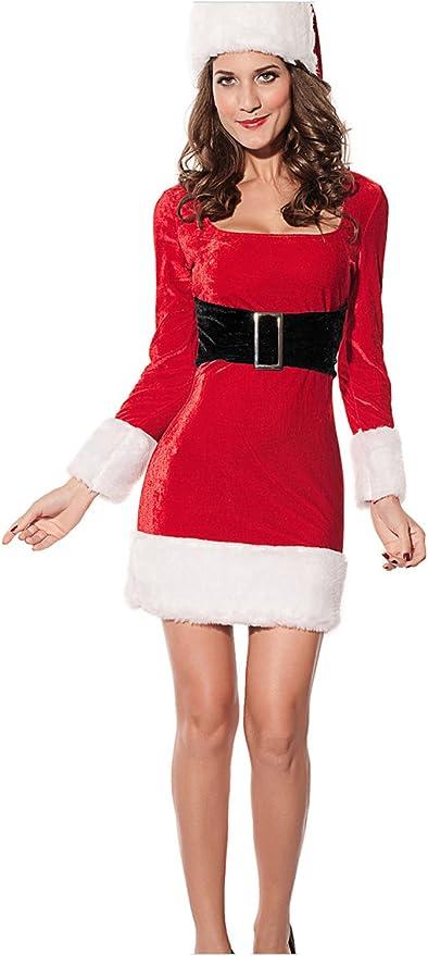 Santa Claus Cardigan Velvet Hooded Cape Cloak MuNiSa Christmas Costume Mrs