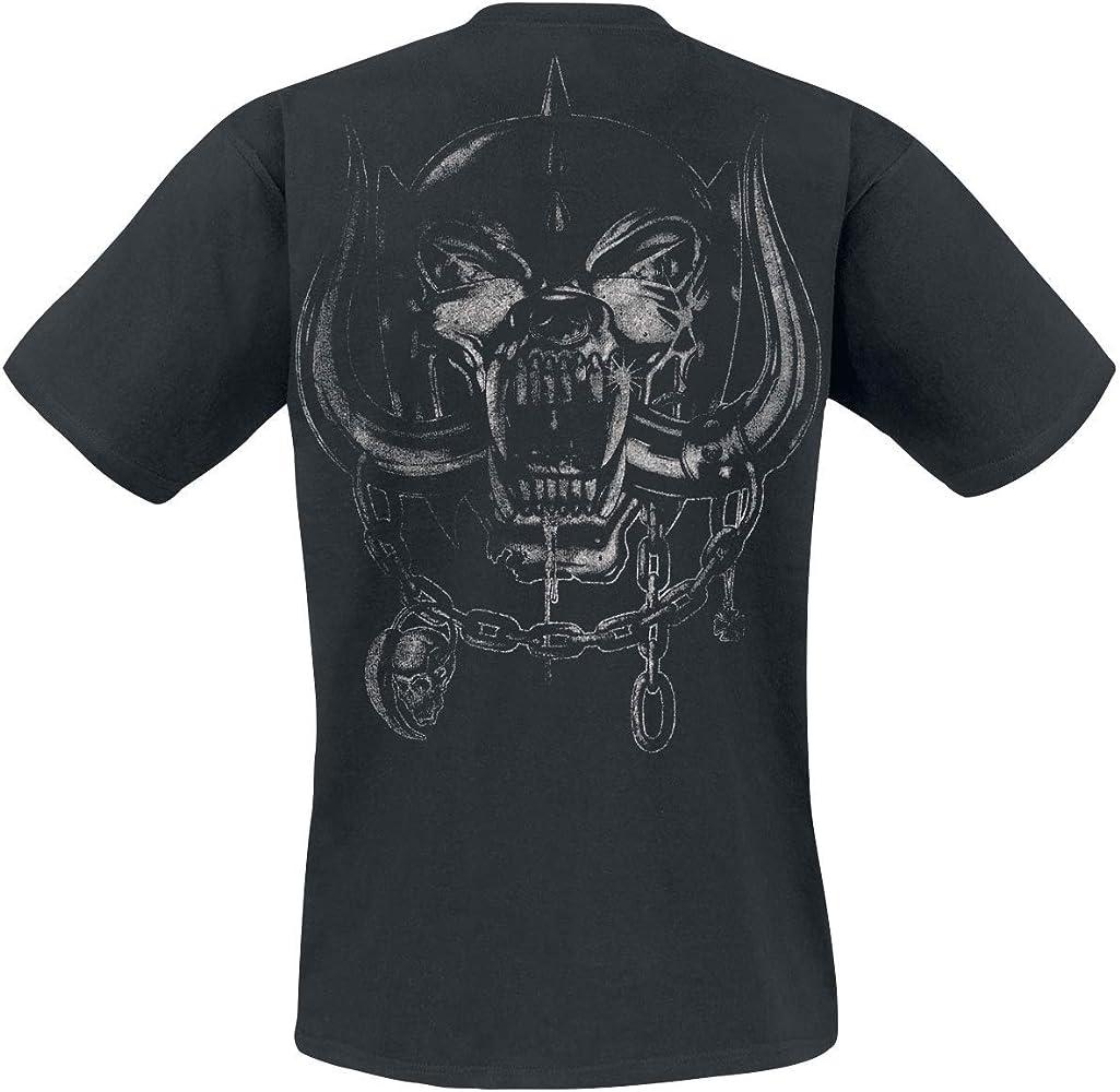 Motörhead Born To Lose Hombre Camiseta Negro M, 100% algodón, Regular: Amazon.es: Ropa y accesorios