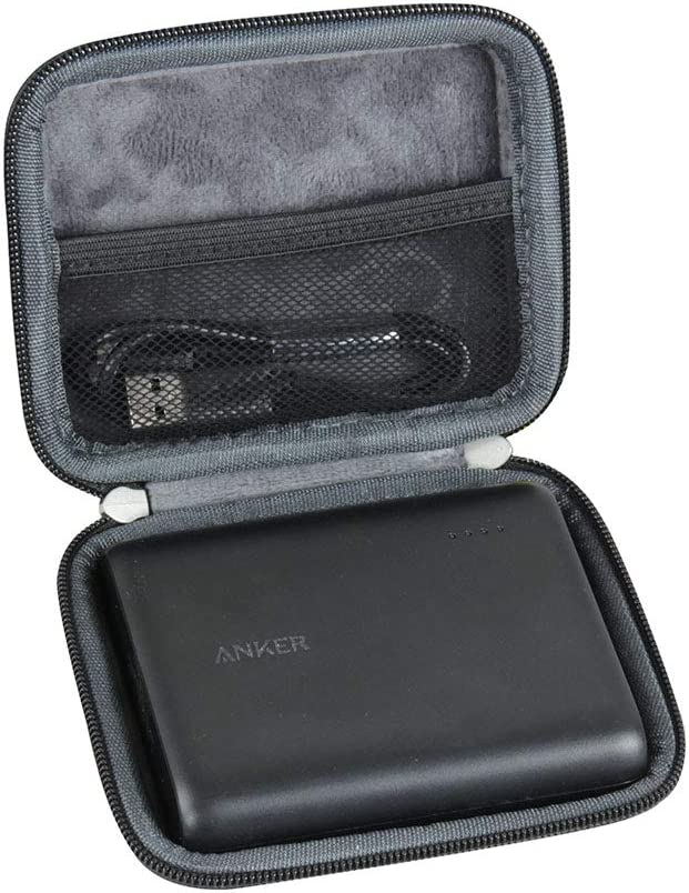 Hermitshell Hard EVA Travel Case Fits Anker PowerCore 13000 Portable Black