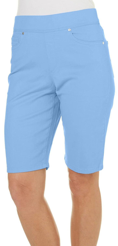 d204ac7603df8 Gloria Vanderbilt Petite Solid Avery Shorts delicate - fikon.si