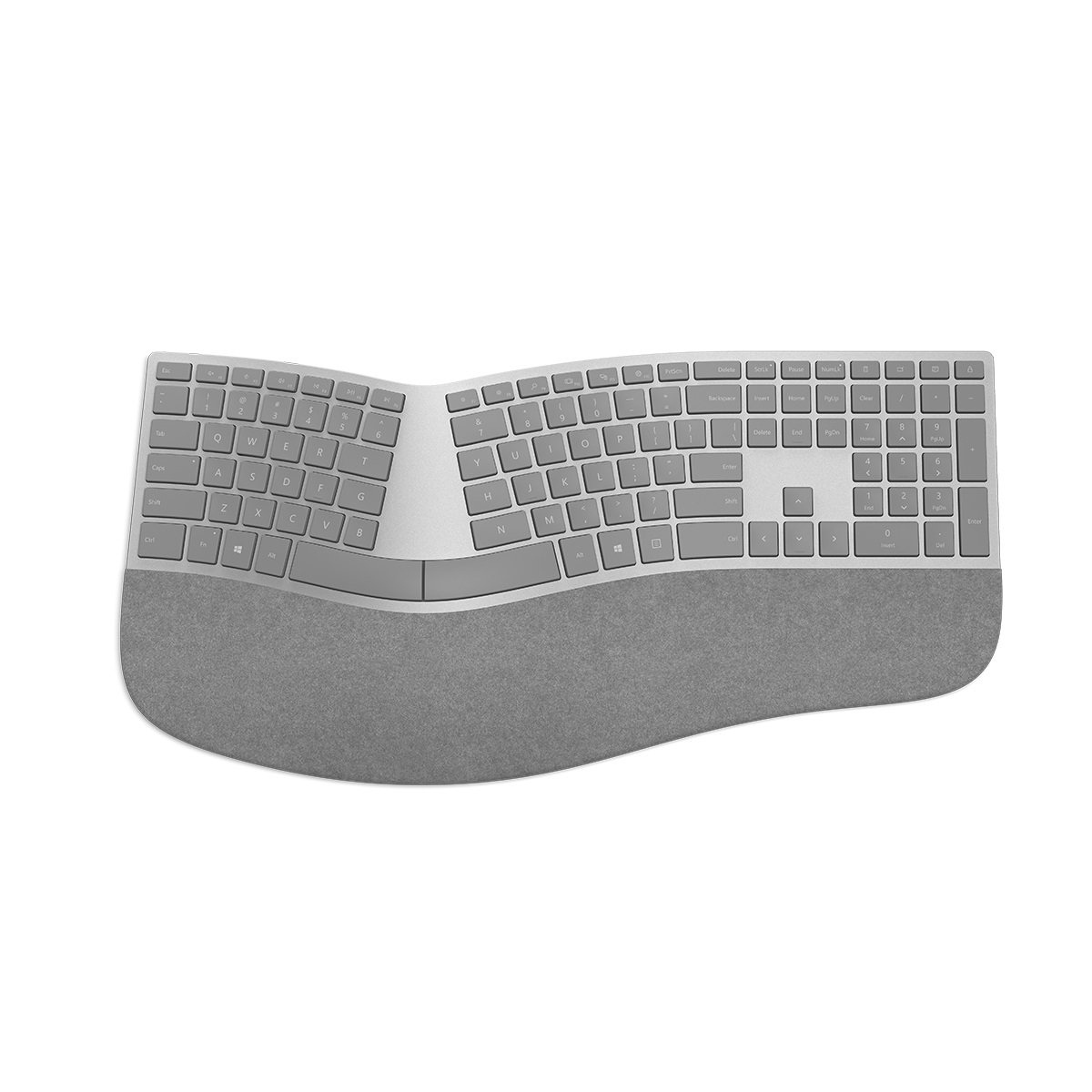 Microsoft 3RA-00001 Surface Ergonomic Keyboard SC Bluetooth, English Synnex Special-Order