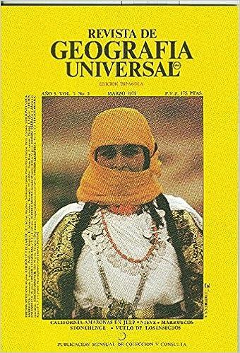 Revista de Geografia Universal volumen 5 numero 3.marzo 1979: Varios: Amazon.com: Books