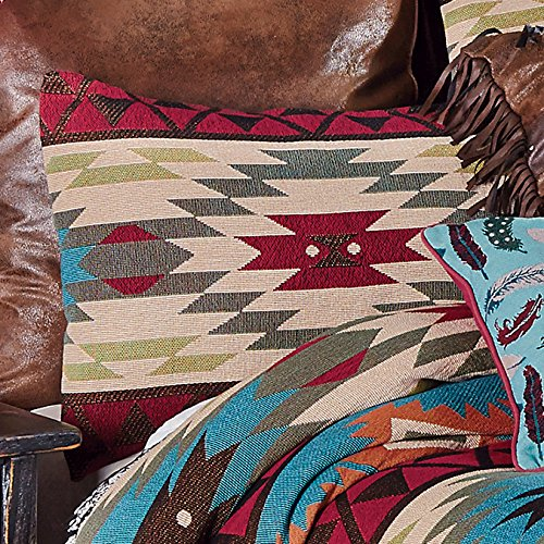 Black Forest Decor Southwest Expressions Tapestry Standard Sham - Home Expressions Standard Sham