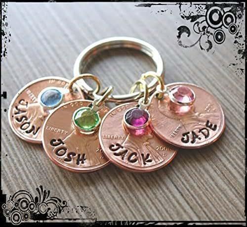 Amazon.com: Mom/Grandma Penny Keychain: Handmade