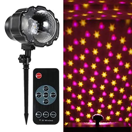 Decdeal – Lámpara de proyección con proyector LED Animado, Efectos ...
