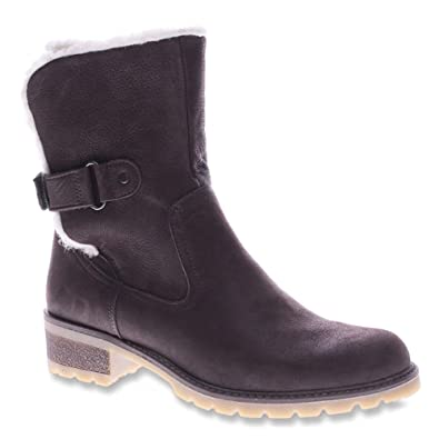 Spring Step Womens Dark Brown Boots Gloucester