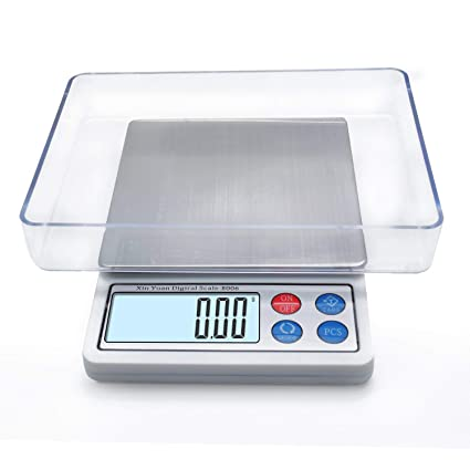 Amazon Com Toprime Digital Gram Scale Mini Size Food Scale 600g X