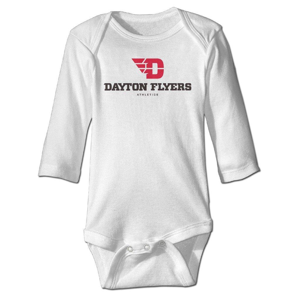 Funny Vintage Unisex University of Dayton Logo 5 Baby Onesie Baby Boy and Girl