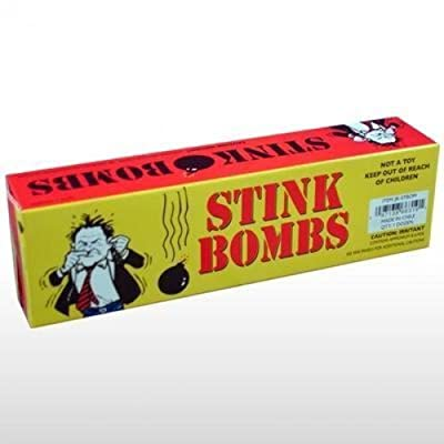 Rhode Island Novelty Stink Bombs Yellow Box: Toys & Games