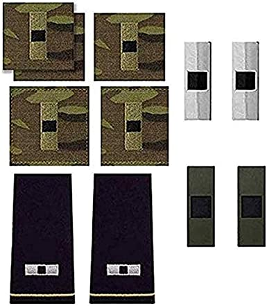 1 PAIR CURRENT US ARMY WARRANT OFFICER 1 METAL RANK