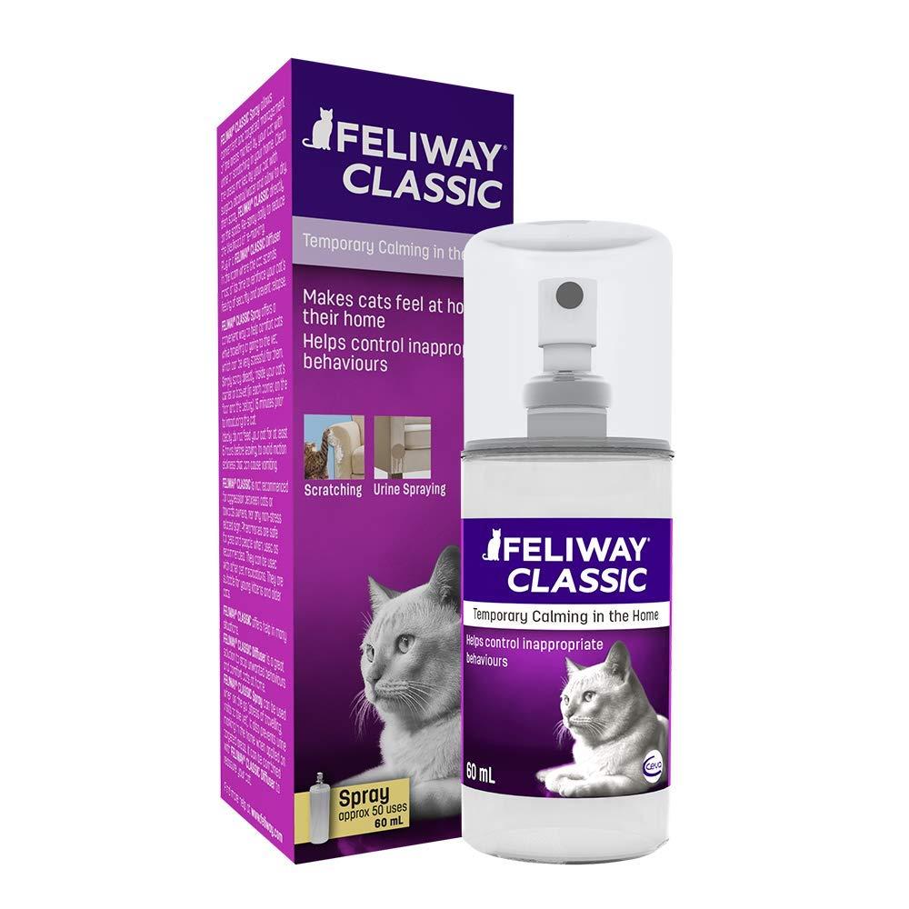 Feliway Classic 60ml Spray, 60ml