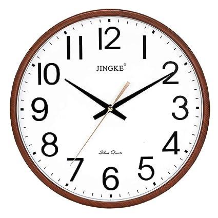 Wall clock Reloj de Pared Reloj Reloj de Pared salón casero Reloj Redondo silencioso (11