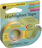 "Fluorescent Highlighter Tape 1/2""X720""-Fluorescent Yellow"
