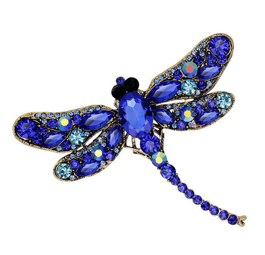 Skyeye Elegent Fashion Lovely Brooches Dragonfly Animal Style Brooch For Women Girl Gift Wedding Party