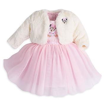 Amazon Com Disney Minnie Mouse Fancy Dress Set With Jacket Baby 6 9