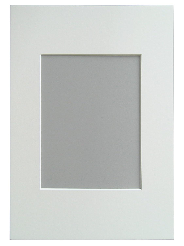 Walther Design Passepartout Per Cornice, Formato Passepartout 50x70 cm, Formato Immagine 40x60 cm, Bianco (Chamios) PA071H