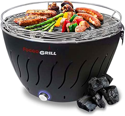 Amazon.com: Parrilla portátil sin humo de acero inoxidable ...