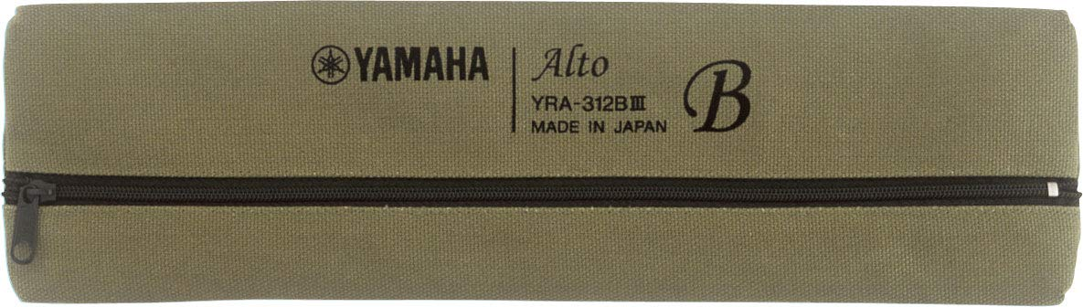 Yamaha YRA-312B 300 Series Alto Recorder in Key of F with Baroque Fingering by YAMAHA