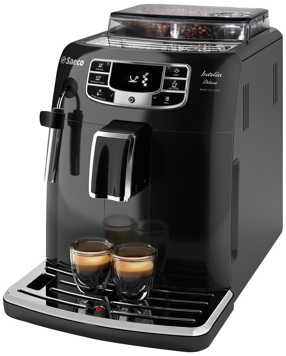 Philips Saeco Intelia Deluxe Coffee Makers Freestanding Fully