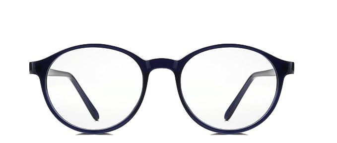 0254fa5441 REACTR Eyewearlabs Round Eye Glasses Specs Men and Women s Dark Blue ...