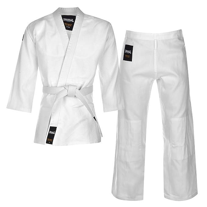 Lonsdale Pantalón de Judo Traje Artes Marciales Set Chaqueta ...