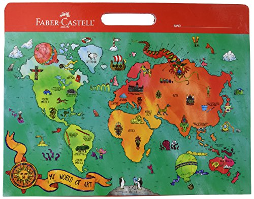 Faber Castell My World of Art Portfolio - 8 Expandable Folder Pockets for Children's Artwork