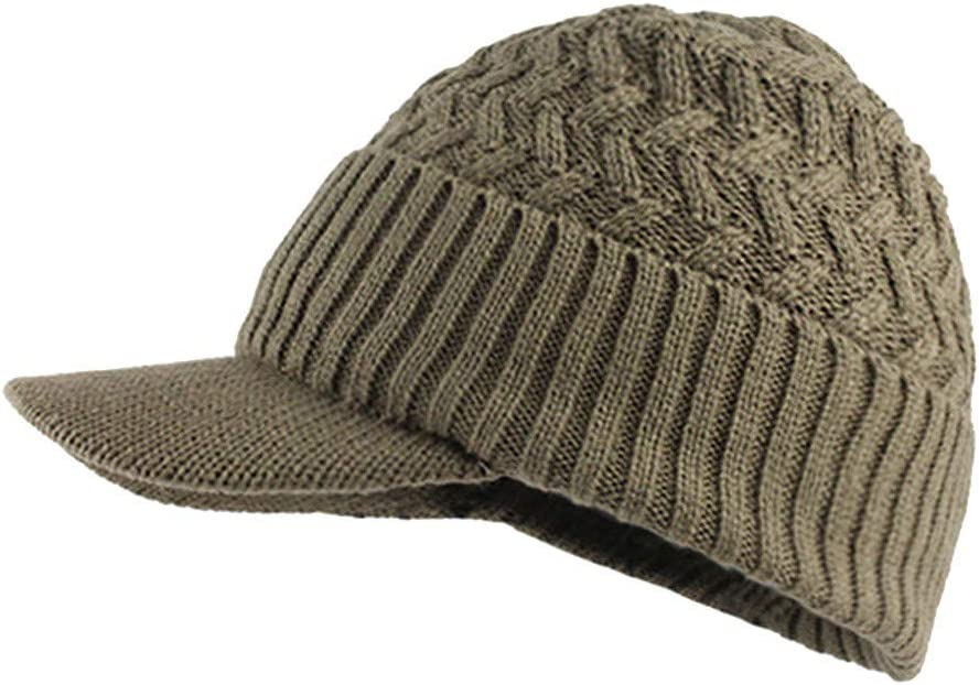 Fossen Unisex Gorra de Punto Invierno Templado Tejer Lana Sombrero para Hombre Mujer