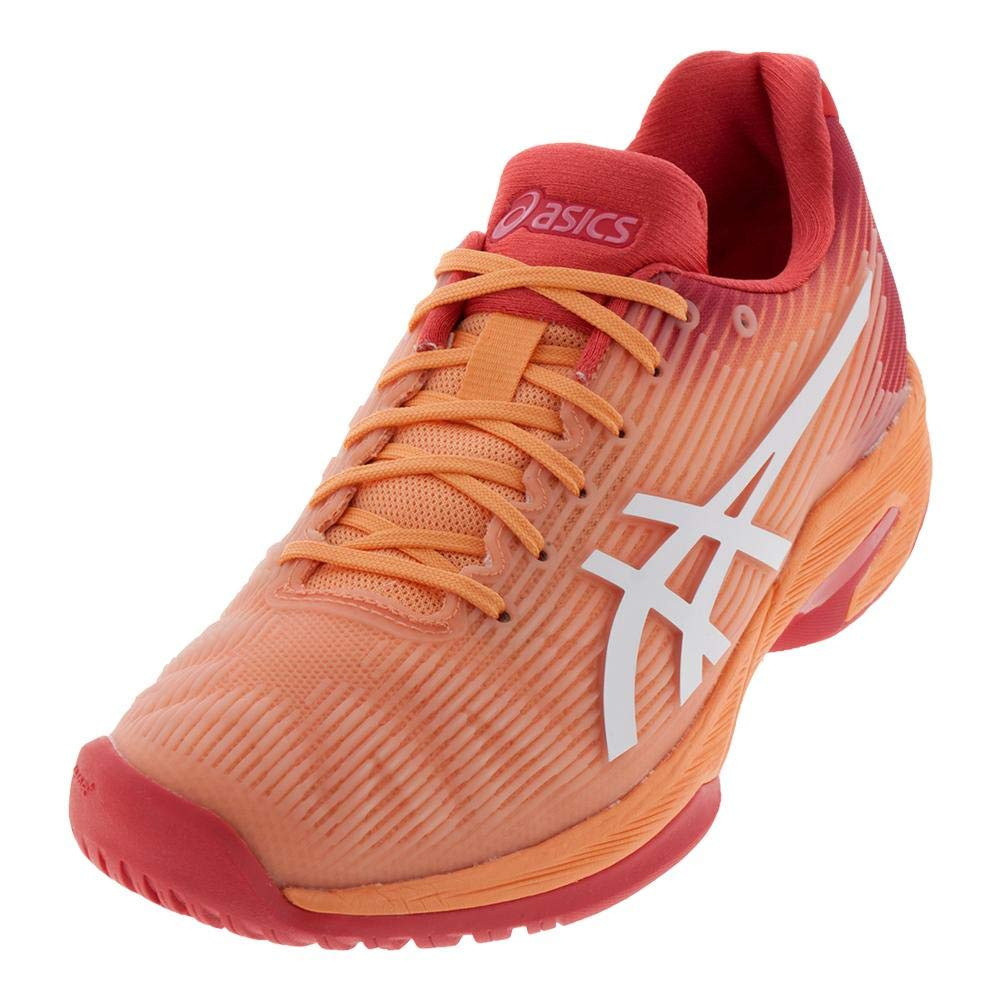 ASICS Women's Solution Speed FF Tennis Shoes, Mojave/White, Size 5
