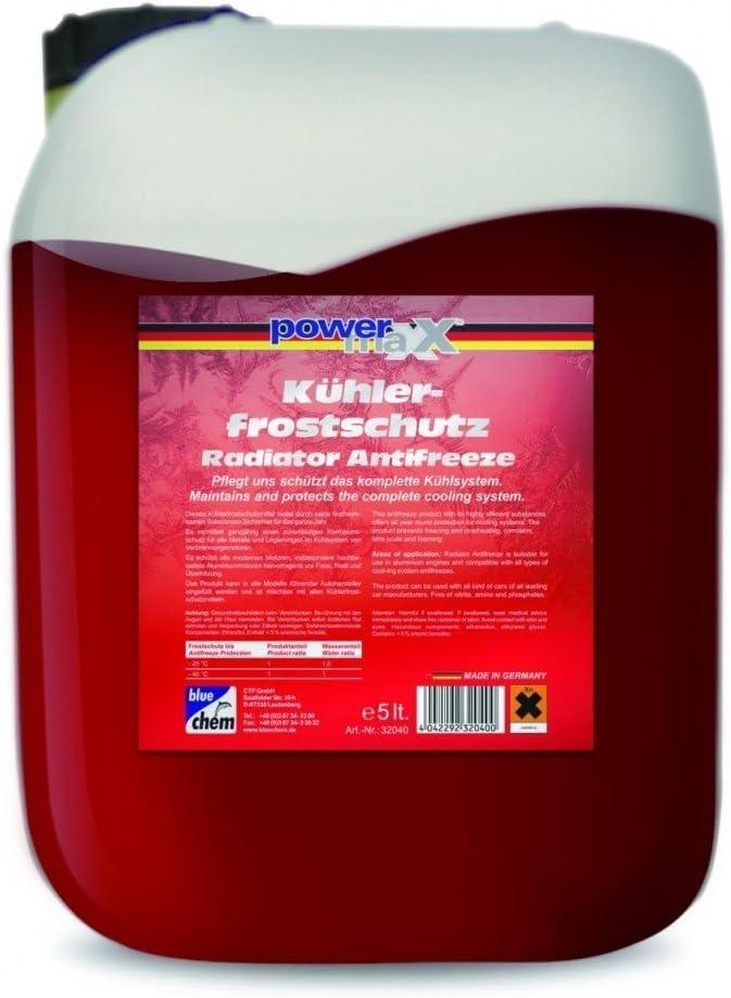 Kühlerfrostschutz G12 Rot 5 Liter Auto