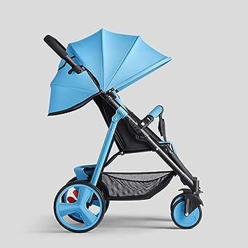 XYQ Carrito de bebé para bebé Trolley para Sentarse ...