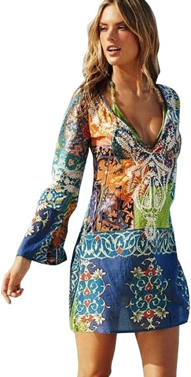 COCO clothing - Vestido - Camisa - Manga Larga - para Mujer